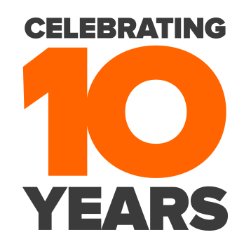 10 Years Of Excellence Logo