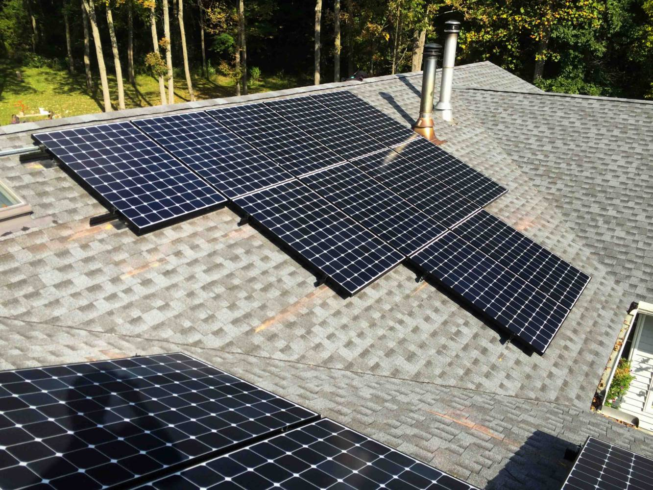 Residential Roof Mounts New York State Solar Farm