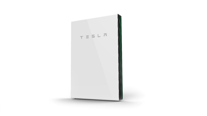 Graphical vector of a Tesla Powerwall