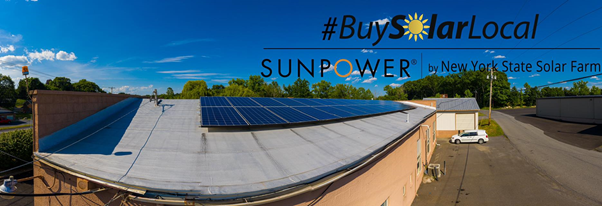 SunPower installation on NYSSF office