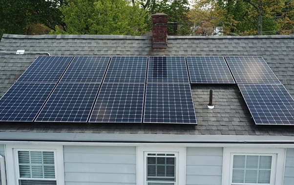 Home solar installation in Poughkeepsie, New York